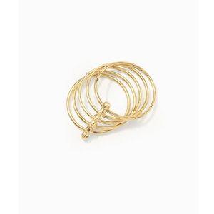 Stella & Dot New w/Box Rhett Ring-Gold-Size 6